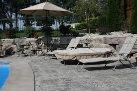 stamped concrete michigan landscaping company