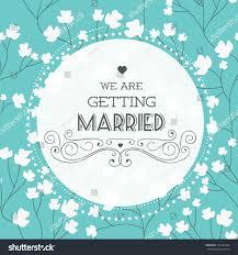 vector illustration wedding invitation card seamless stock vector
