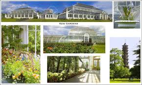 a picture postcard of the royal botanical gardens at kew kew