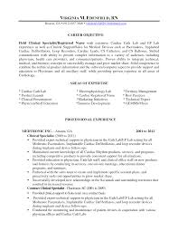 cover letter resume for surgical technologist resume objective for