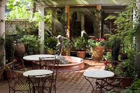 outdoor courtyard nice courtyard landscaping ideas considering in having small