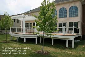 Pergola And Decking Designs by Composite Deck Geodeck Geodeck Decking Composite Decking