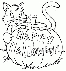 halloween coloring page pdf 5 arterey info