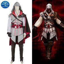manluyunxiao men game character assassins creed costume ezio