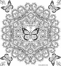 symmetry coloring pages printable butterfly coloring pages for kids cool2bkids