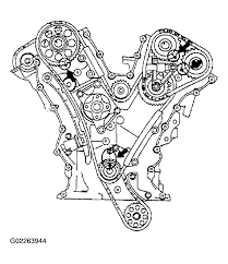 where can i get a diagram for putting a timing chain on for a 03