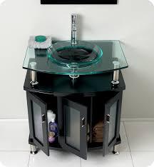 30 Inch Modern Bathroom Vanity Contento 30 Inch Espresso Modern Bathroom Vanity Tempered Glass Top