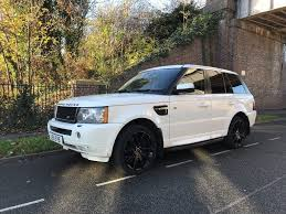 modified range rover classic range rover sport 3 6l diesel 2007 black and white rare colour