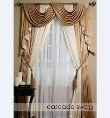 Victorian Swag Curtains Swag Curtains With Valance Best Ideas Best Curtains Design 2016