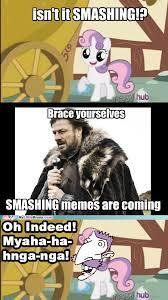 Smashing Meme - mlp meme smashing by stitchfan on deviantart