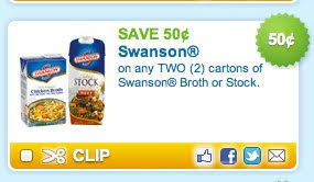 50 2 swanson broth coupon print now for thanksgiving day meal