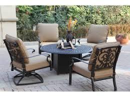 darlee outdoor living series 60 cast aluminum 52 round propane