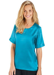 turquoise blouse satin blouse carolwrightgifts com