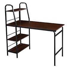 multi tiered computer desk amazon com tangkula 48 multi function adjustable computer desk