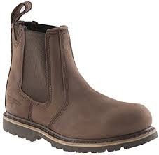 womens dealer boots uk buckler b1150sm buckflex safety work boots chocolate sizes 4