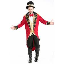 Ringmaster Halloween Costume Magician Costume Men Gothic Victorian Dress Halloween Costume