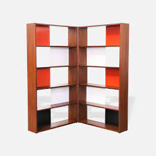rare evans clark room divider bookshelf for glenn of california