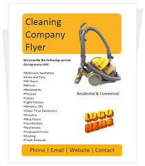commercial cleaning brochure templates 10 best cleaning flyers images on cleaning flyers