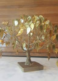 vintage mid century original dream tree numbered by j e tramel in