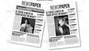 indesign newspaper template best template examples