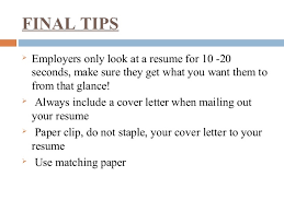 Do You Staple A Resume Resume Building