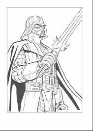 terrific star wars darth vader coloring page with darth vader