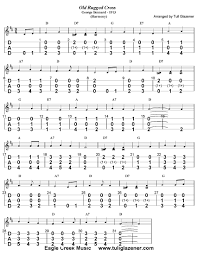 Song Lyrics Old Rugged Cross Current Free Tab By Tull Glazener