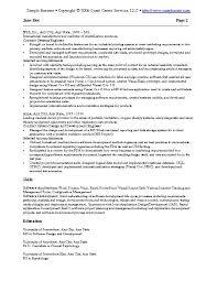 Software Resume Template Sample It Resume Resume Templates