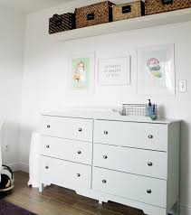 Baby Storage Baskets Baby Nursery Baby Nursery Changing Table Review White Solid Wood