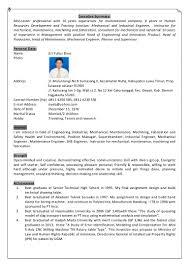 Resume For Superintendent Position Resume Eri