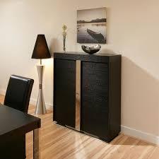 Black Gloss Buffet Sideboard Sideboards Interesting Tall Buffet Cabinet Tall Buffet Cabinet