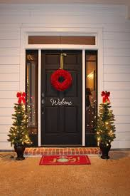 backyards outdoor christmas decoration door wreath out wood