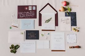 Calligraphy Wedding Invitations Calligraphy Wedding Invitations Trendy Bride Magazine