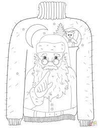 for kids printable sheets on for christmas santa claus sleigh