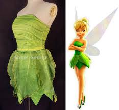 tinkerbell costume p356 tinkerbell costume women leafy print dress angel