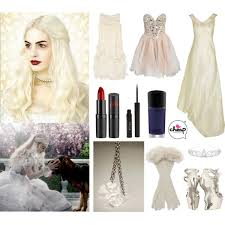 Snowflake Halloween Costume Halloween Costumes White Queen Polyvore