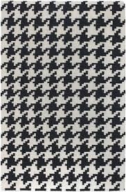houndstooth wool rug by surya rosenberryrooms com