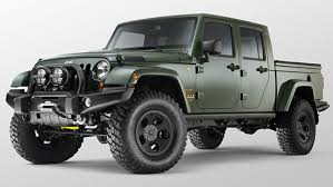 jeep brute 4 door filson jeep pickup is custom made for the upscale outdoorsman