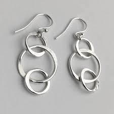 earrings everyday handmade sterling silver earrings by lizardi jewelry