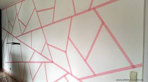 Wohnzimmer Streichen Muster Atelier Waldfee Wohnzimmer Im Neuen Geometric Look
