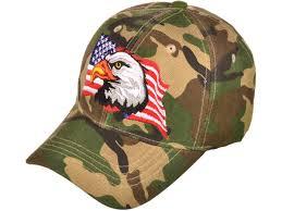 American Flag Flat Bill Hat Decky Products Buckwholesale Com