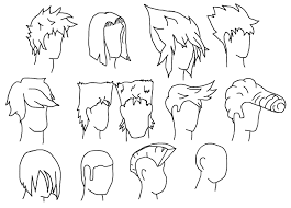 ideas about short anime hairstyles for guys shoulder length