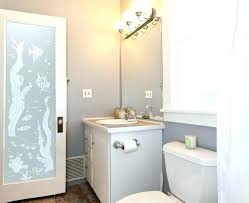 Frosted Closet Door Bathroom Modern Frosted Glass Interior Doors With Decorative