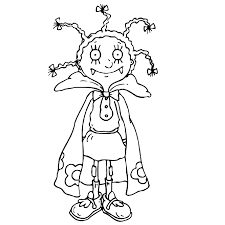 mona vampire coloring pages glum