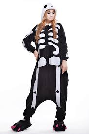 Skeleton Halloween Costume Women by Online Buy Wholesale Men Skeleton Onesie From China Men Skeleton
