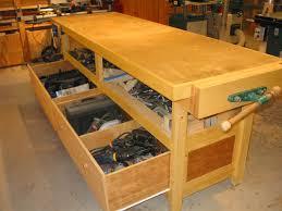 garage workbench unique garage workbenchh drawers picture ideas