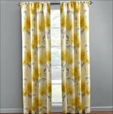 yellow grommet curtains window curtains yellow grey set yellow