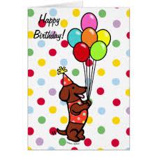 funny dachshund birthday greeting cards zazzle