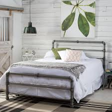 How To Make A Platform Bed With Headboard by Belham Living Merced Platform Cart Bed Hayneedle
