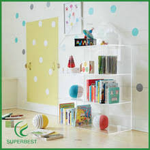 house shaped acrylic bookcase house shaped acrylic bookcase